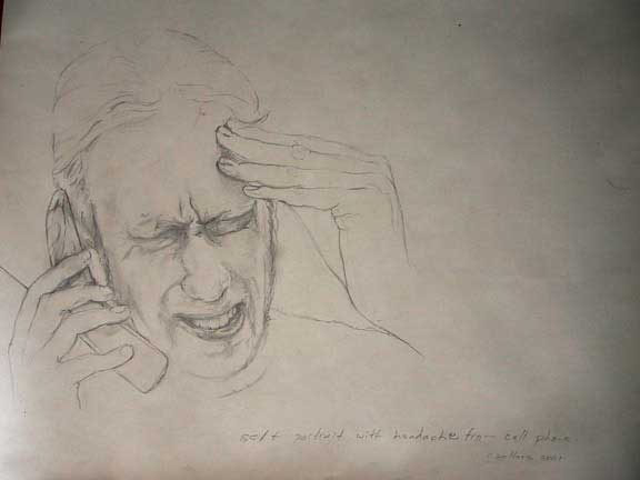 Self Portrait with headache